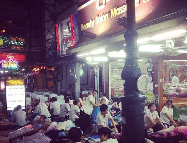 Thai Massage in Bangkok Thailand Sehenswürdigkeiten
