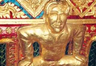 Wat Pariwat Tempel David Beckham Bangkok Sehenswürdigkeiten