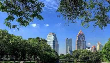 Lumphini-Park Bangkok Thailand