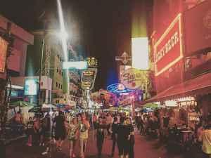 Top Sehenswürdigkeit 5:Die berühmte Khao San Road