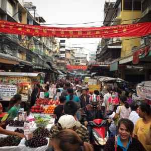 Top Sehenswürdigkeit 10:Der Chinatown Markt in Bangkok