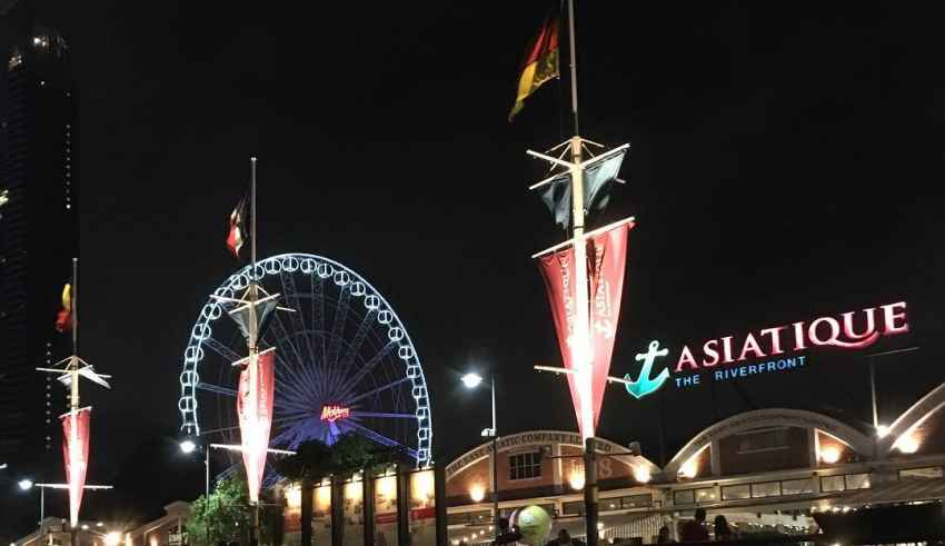 Asiatique The Riverfront Shopping bangkok Thailand Sehenswürdigkeiten