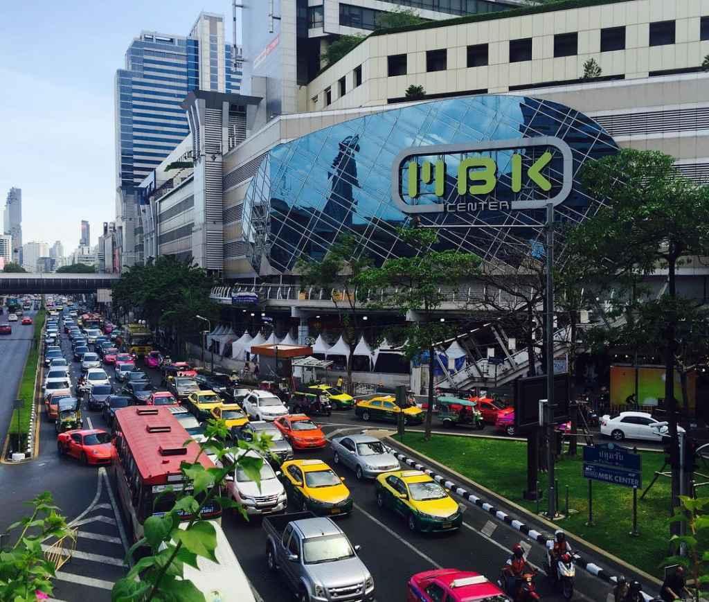 MBK Shopping Center Bangkok Thailand Einkaufen Sehenswürdigkeiten