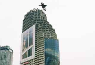Sathorn Unique Wolkenkratzer Ghost Tower Bangkok Thailand Skurrille Sehenswürdigkeiten