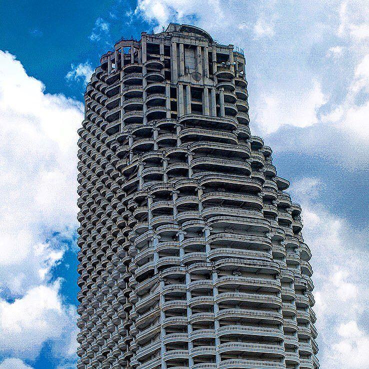 Sathorn Unique Bangkok Thailand Ghost Tower Verlassener Wolkenkratzer Außergewöhnliche Sehenswürdigkeiten