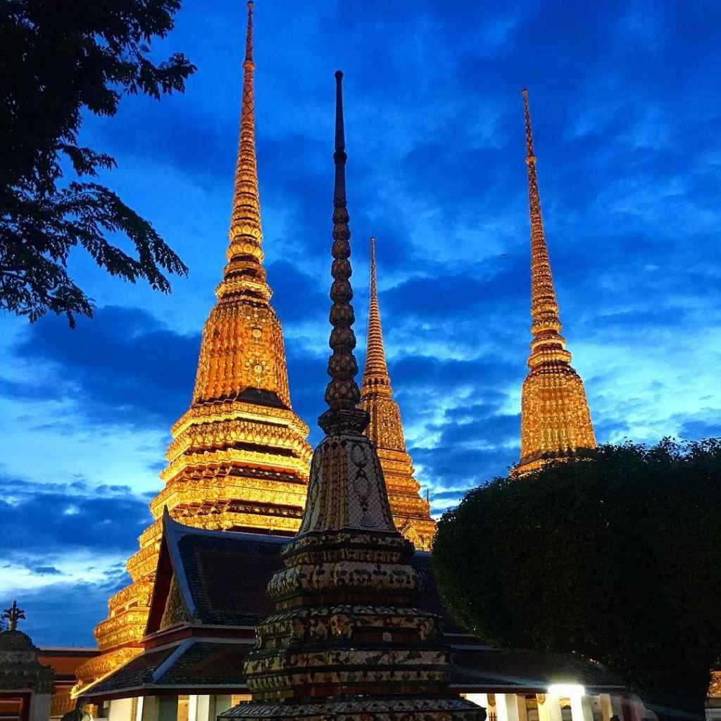 Wat Pho Bangkok Thailand Sehenswürdigkeiten