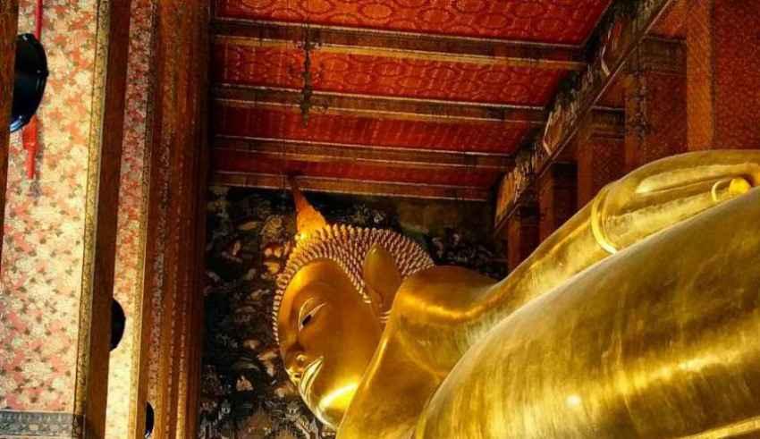 Wat Pho Tempel Bangkok Thailand Sehenswürdigkeiten