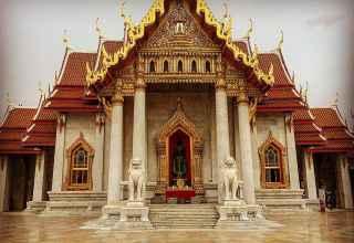 Wat Suthat Bangkok Thailand Sehenswürdigkeiten