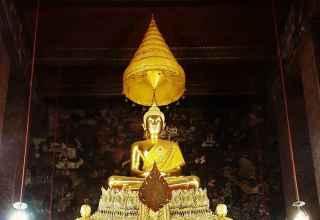 Wat Traimit Golden Buddha Bangkok Thailand Sehenswürdigkeiten
