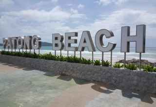 Patong Beach Sign