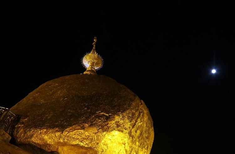 Goldene Fels Myanmar