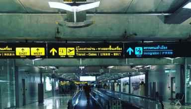 Flughafen Suvarnabhumi Bangkok