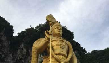 Statur am Eingangsbereich der Batu Caves