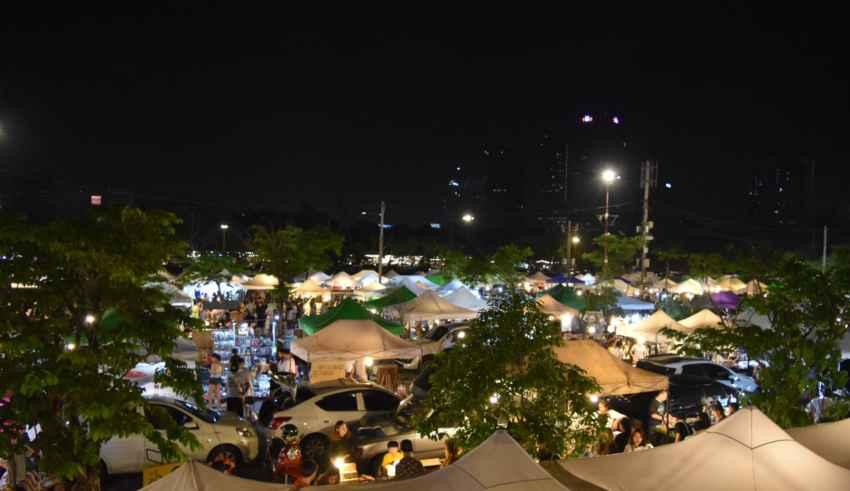 Nachtmärkte in Thailand