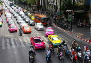 Taxis in Bangkok